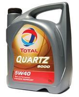 Масло моторное синтетическое QUARTZ 9000 5W-40, 5л